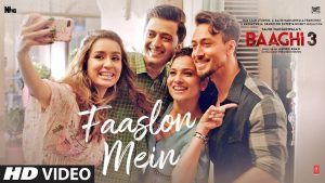 Read more about the article Faaslon Mein Lyrics – Baaghi 3 (2020)