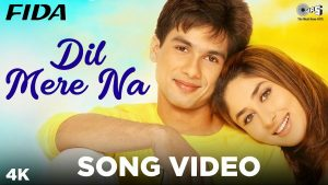 Read more about the article Dil Mere Na Song Lyrics in Hindi English || दिल मेरे ना और इंतज़ार कर || Fida ||