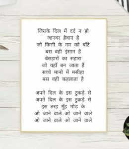 Read more about the article Janewale O Janewale Lyrics in Hindi English || जाने वाले ओ जाने वाले || Jaanwar ||