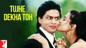 Read more about the article Tujhe Dekha Toh Song Lyrics in Hindi | English | Kumar S & Lata M