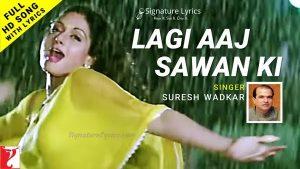 Read more about the article Lagi Aaj Sawan Ki Lyrics – Chandni